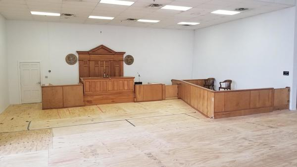 A plan is under way to restore the first courtroom in the Walton County Courthouse