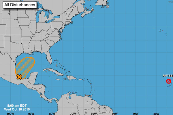 A subtropical or tropical cyclone could form later in the week