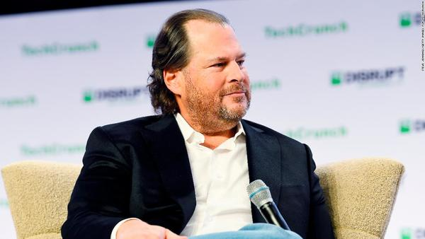 It's time to break up Facebook, says Salesforce CEO Marc Benioff