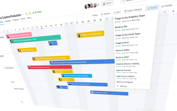 Asana launches automation tools, including a rules builder to sidestep repetitive tasks