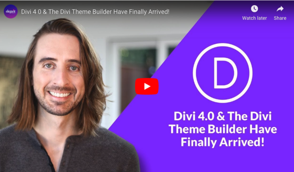 """Divi 4 Released (Includes new """"Theme Builder"""")"""