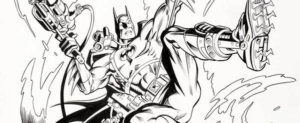 Jose Luis Garcia Lopez - Batman Style Guide Original Art