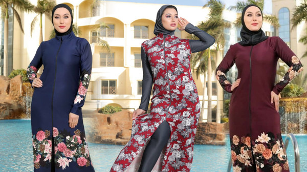 The Spread of Egyptian Designers Selling New Extra-long Swimwear
