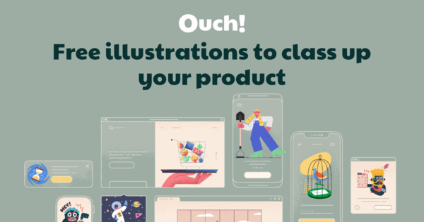 Ouch - Free Vector Illustrations