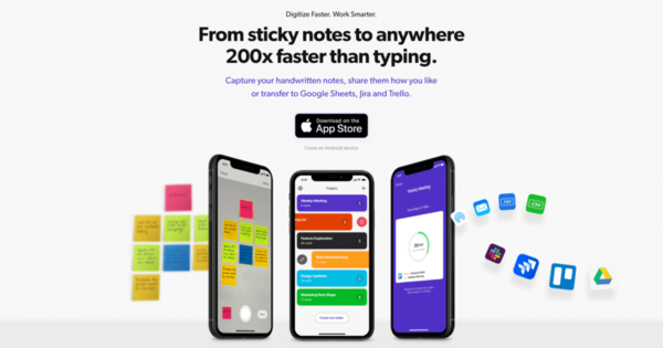Turn Handwritten Notes Into Text With Brill