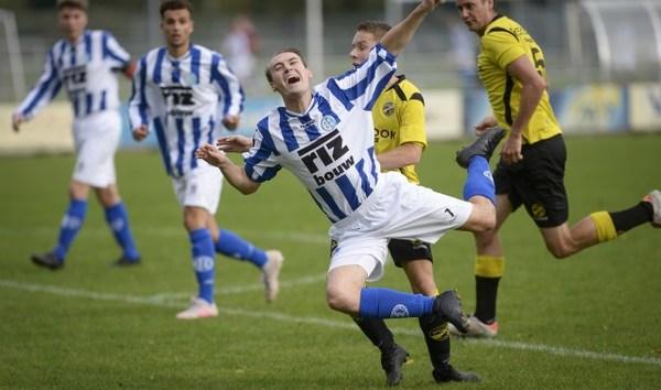 Schoonhoven met tien man langs FC Perkouw: 4-2