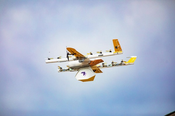 Wing Launches America's First Commercial Drone Delivery Service to Homes in Christiansburg, Virginia