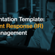Report to Your Management with the Definitive 'Incident Response for Management' Presentation Template
