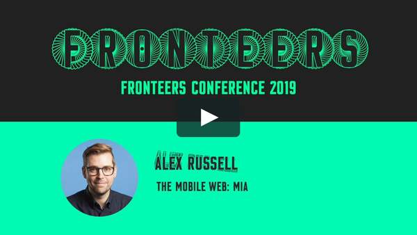 The Mobile Web: MIA, by Alex Russell