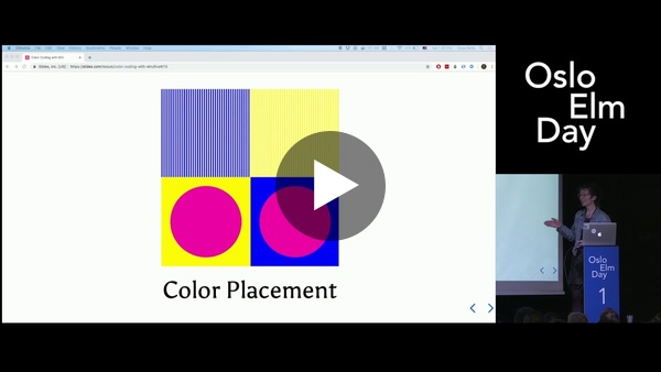 Tessa Kelly - Color Coding with Elm