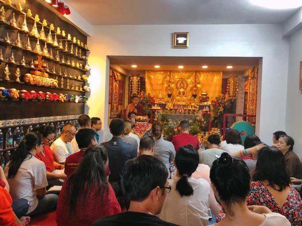 Tulku Migmar Tsering Teaching in Rangjung Yeshe Vietnam