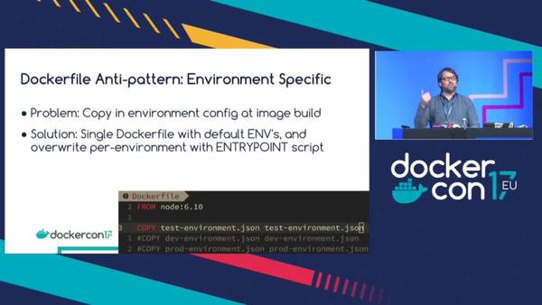 DockerCon - Production Concerns