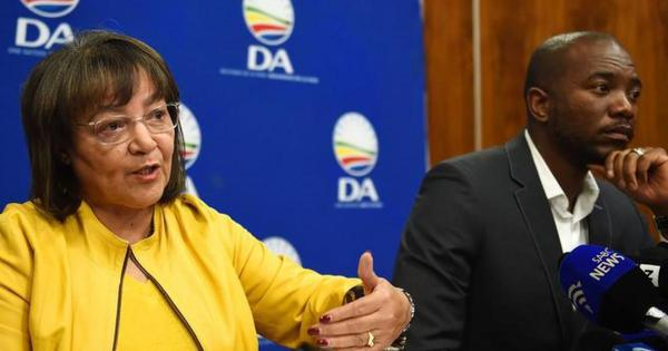 'I told you so': De Lille says to Maimane | eNCA