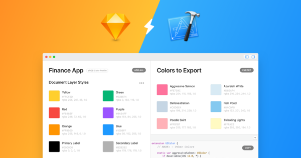 Sketch to Xcode — Export Assets Directly