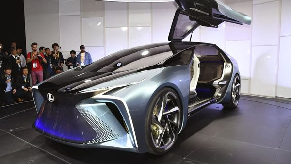 Lexus drone points to future motoring