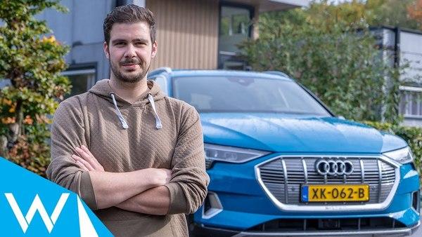 Audi E-tron review | Technologisch bakbeest van een auto | WANT