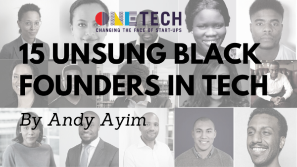 15 Unsung Black Founders in Tech