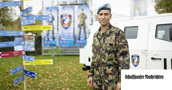 Schweizer Soldaten für die Stabilität in Krisengebieten