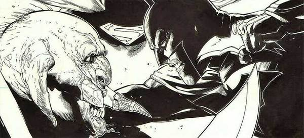 Doug Mahnke - Batman Original Comic Art