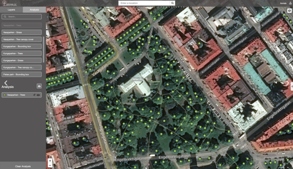 One of 20tree.ai's services is monitoring urban trees to help keep cities sustainable in a changing climate.