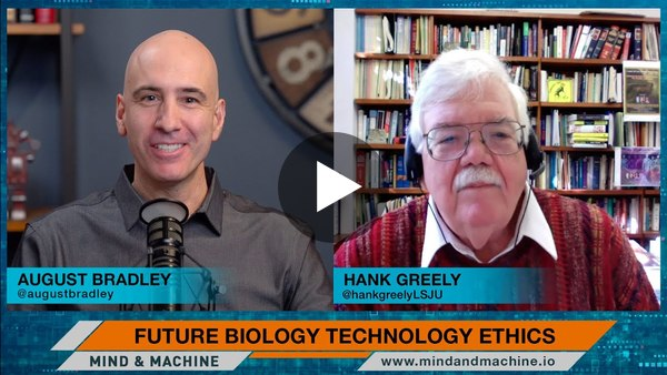 CRISPR Gene Editing & Mind Reading Technologies with Stanford Law Ethicist Hank Greely