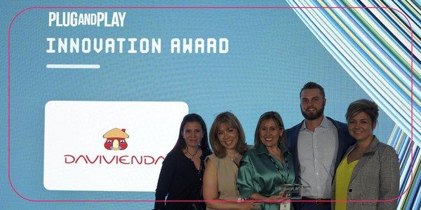 Davivienda ganó premio de Plug and Play por los avances en su ecosistema Fintech