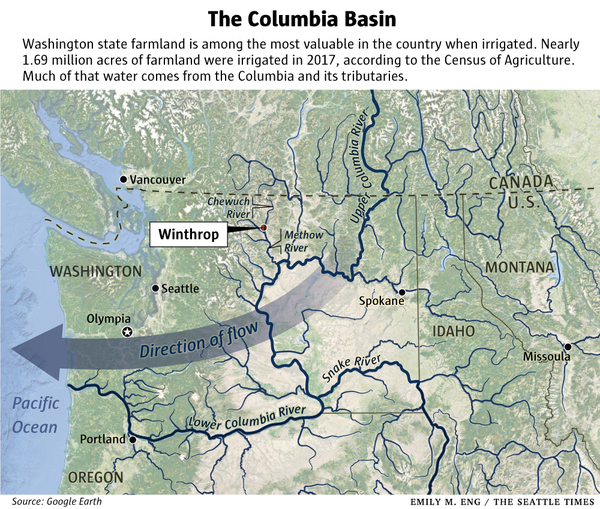 Wall Street spends millions to buy up Washington state water
