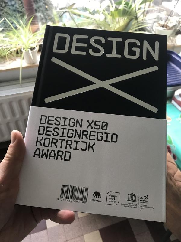 DesignX50: alweer het bewijs dat er zotte shit gebeurt in Kortrijk.