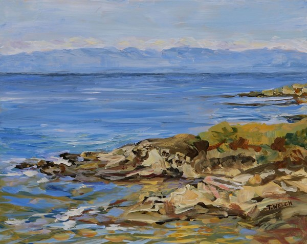 "Feature work by Terrill Welch in ""Paintings of the Salish Sea"" show"