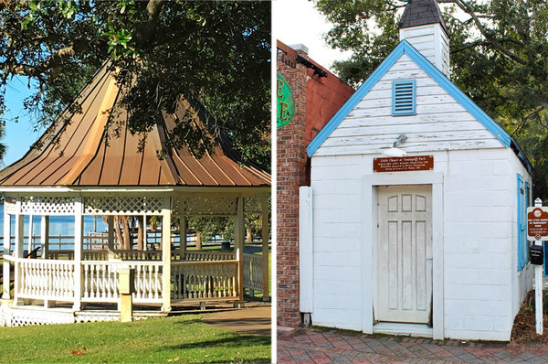 Vandegriff Park Chapel & gazebo to be removed at The Landing as renovation starts
