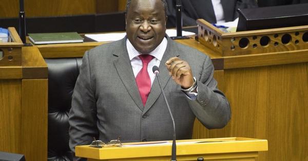 Mboweni faces tough task of balancing government's books   eNCA