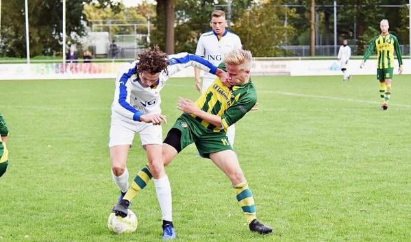 Eerste échte derby voor Brederodes-middenvelder Dennis Kruijk