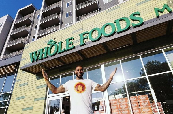 He Just Became One Of The First Black Owned Juiceries With A Brick & Mortar Inside Of Whole Foods