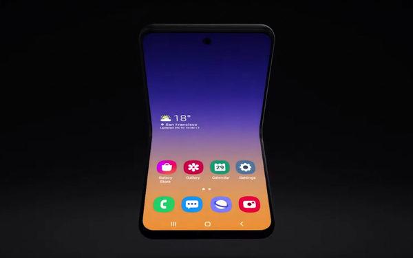 Samsung toont eerste concept nieuwe generatie opvouwbare smartphones
