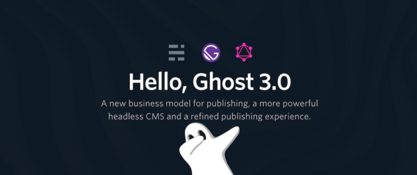 New Ghost 3.0 and how to use it with GraphQL (Gatsby)