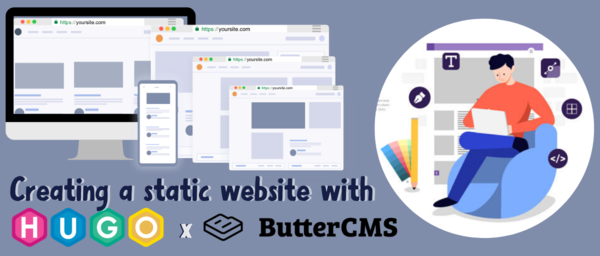 Static website | Development | Headless CMS | ButterCMS | ButterCMS