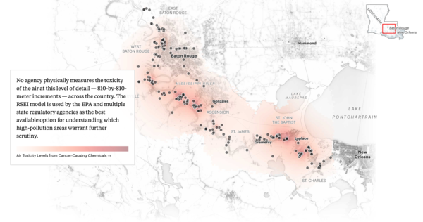 In a Notoriously Polluted Area of the Country, Massive New Chemical Plants Are Still Moving in