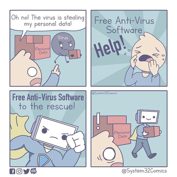 Free Anti-Virus Software to the Rescue