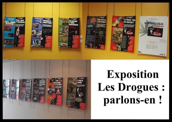 Exposition du 04 au 15/11, visite possible avec une classe, au CDI et dans les couloirs