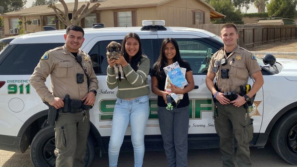 Deputies replace puppy killed in dog attack | YourCentralValley.com
