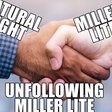 Natural Light jabs rival with beer giveaway for Miller Lite 'unfollowers' | Mobile Marketer