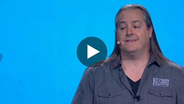 Blizzard Entertainment boss J. Allen Brack addresses the Hong Kong controversy at BlizzCon.