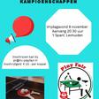 Tafeltennis: Open Leimuidense dubbelkampioenschappen