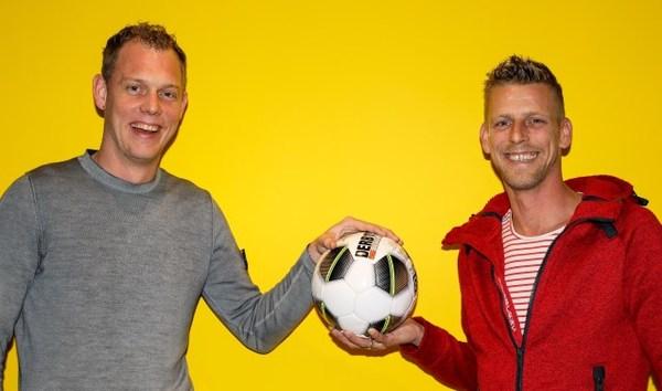 Zwagers Sander Vink en Ruud de Groot blikken vooruit op derby: 'Nog nooit verloren van SV Meerkerk'