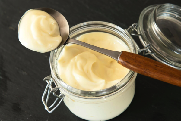 Homemade mayo (klik voor recept)