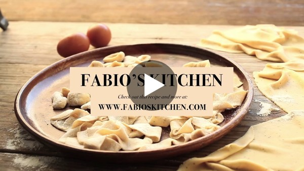 "Fabio's Kitchen: Episode 1, ""Quick Fresh Pasta Dough"""