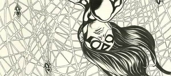 Frank Cho - Original Spiderwoman Cover Art