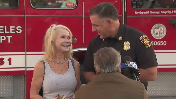 'I Don't Have Anything, Except for This': Woman Reunited With Heirloom Ring After Getty Fire Destroys Her Brentwood Home | KTLA