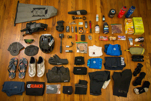 What to Pack: The best gear for self supported credit card touring on the road