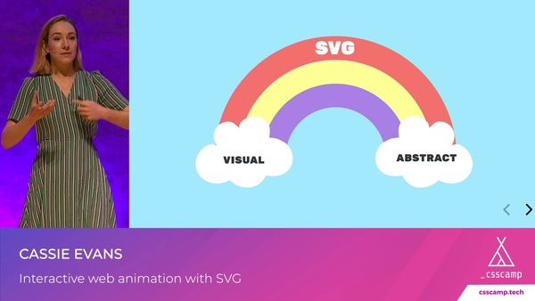 Interactive web animation with SVG by Cassie Evans